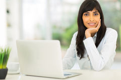 Indian businesswoman office Stock Images