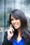 Indian businesswoman on the phone Stock Photos