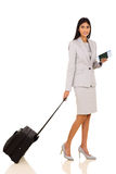 Indian businesswoman travelling Royalty Free Stock Image