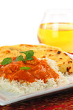 Indian Butter Chicken Royalty Free Stock Photography