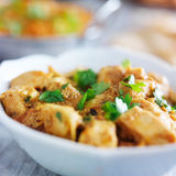 Indian butter chicken curry Royalty Free Stock Photos