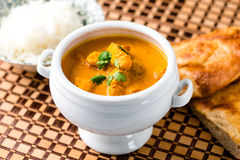 Indian butter chicken curry dish Royalty Free Stock Photography