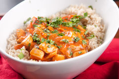 Indian butter chicken Stock Photos