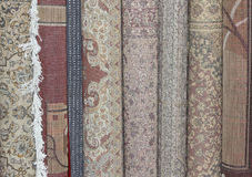 Indian carpets Royalty Free Stock Image