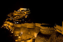 Indian Castle in Kumbal Garh Stock Photos
