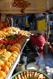 Indian Chaat stalls on Rajasthan. Stock Image