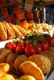 Indian Chaat stalls on Rajasthan. Royalty Free Stock Photography
