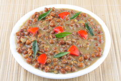 Indian Chana Masala or Spicy Chickpeas Royalty Free Stock Photo