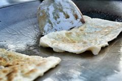 Indian Chapati Breads Royalty Free Stock Image