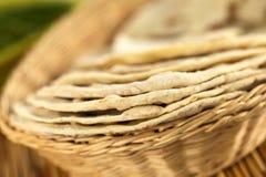 Indian Chapati Flatbread Stock Image