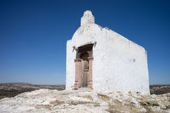 Indian chapel in the Mexican desert. Catholic chapel in the Mexican desert used for the conversion of the indigenous people to christianity Royalty Free Stock Photography