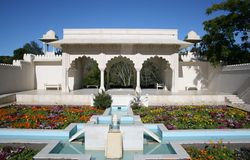 Indian Char Bagh Garden Hamilton New Zealand Royalty Free Stock Photo