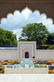 Indian Char Bagh Garden in Hamilton Gardens - New Zealand Royalty Free Stock Image