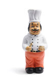 Indian Chef Figurine Royalty Free Stock Image