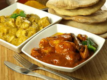Indian chicken Royalty Free Stock Photography