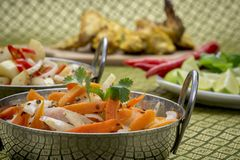 Indian Chicken Stock Images