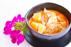 Indian chicken curry Royalty Free Stock Photography