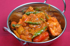 Indian Chicken Curry Dish Stock Photos