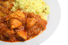 Indian Chicken Curry Food Royalty Free Stock Photography