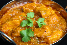 Indian Chicken Curry Food Stock Photos