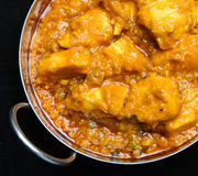 Indian Chicken Curry with Lentils Stock Images