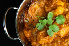 Indian Chicken Dansak Curry Royalty Free Stock Images