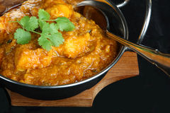 Indian Chicken Dansak Curry Royalty Free Stock Image