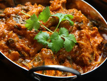 Indian Chicken Massala Curry Food Stock Image