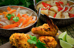 Indian Chicken Royalty Free Stock Photos