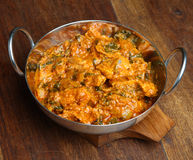 Indian Chicken Saag Massala Curry Stock Photo