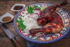 Indian chicken tandoori Royalty Free Stock Photography