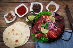 Indian chicken tandoori Stock Image