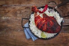 Indian chicken tandoori Stock Photos