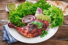 Indian chicken tandoori Stock Images
