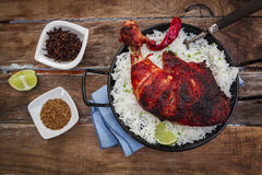 Indian chicken tandoori Royalty Free Stock Photo