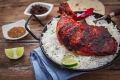Indian chicken tandoori Royalty Free Stock Images