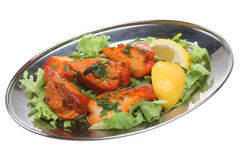 Indian Chicken Tikka Stock Photos