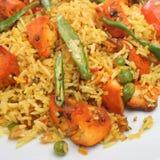 Indian Chicken Tikka Biriani Curry Royalty Free Stock Photo