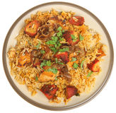 Indian Chicken Tikka Biriyani Curry Stock Photos