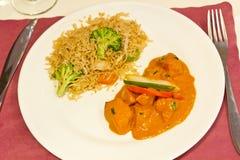 Indian Chicken Tikka Masala Royalty Free Stock Photos