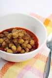 Indian chickpea curry Royalty Free Stock Photography