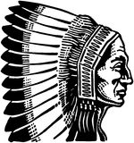 Indian Chief 2 Stock Image