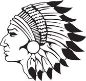 Indian Chief Black And White
