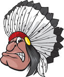 Indian Chief Royalty Free Stock Image