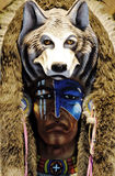 Indian chief's head Royalty Free Stock Image