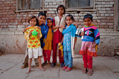 Indian children Stock Image