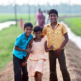 Indian children Stock Photo