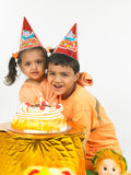 Indian children birthday Royalty Free Stock Photo