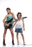 Indian Children music band Stock Photo