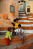 Indian Children playing Stock Photo